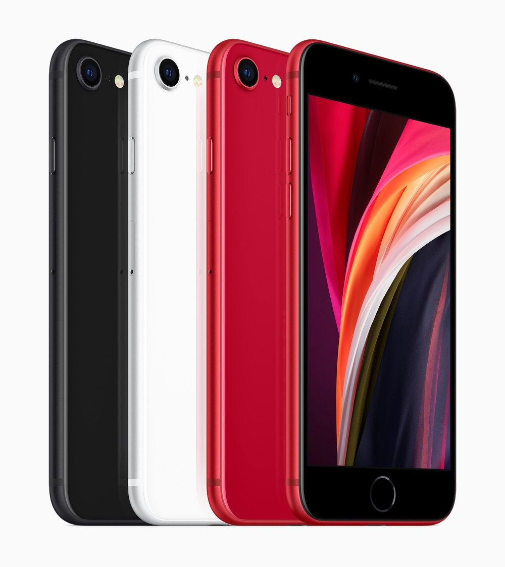 Apple_new-iphone-se-black-white-product-red-colors_04152020