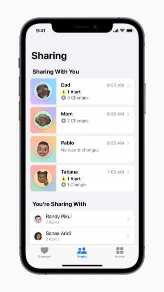Apple-iPhone12Pro-iOS15-health-sharing-060721