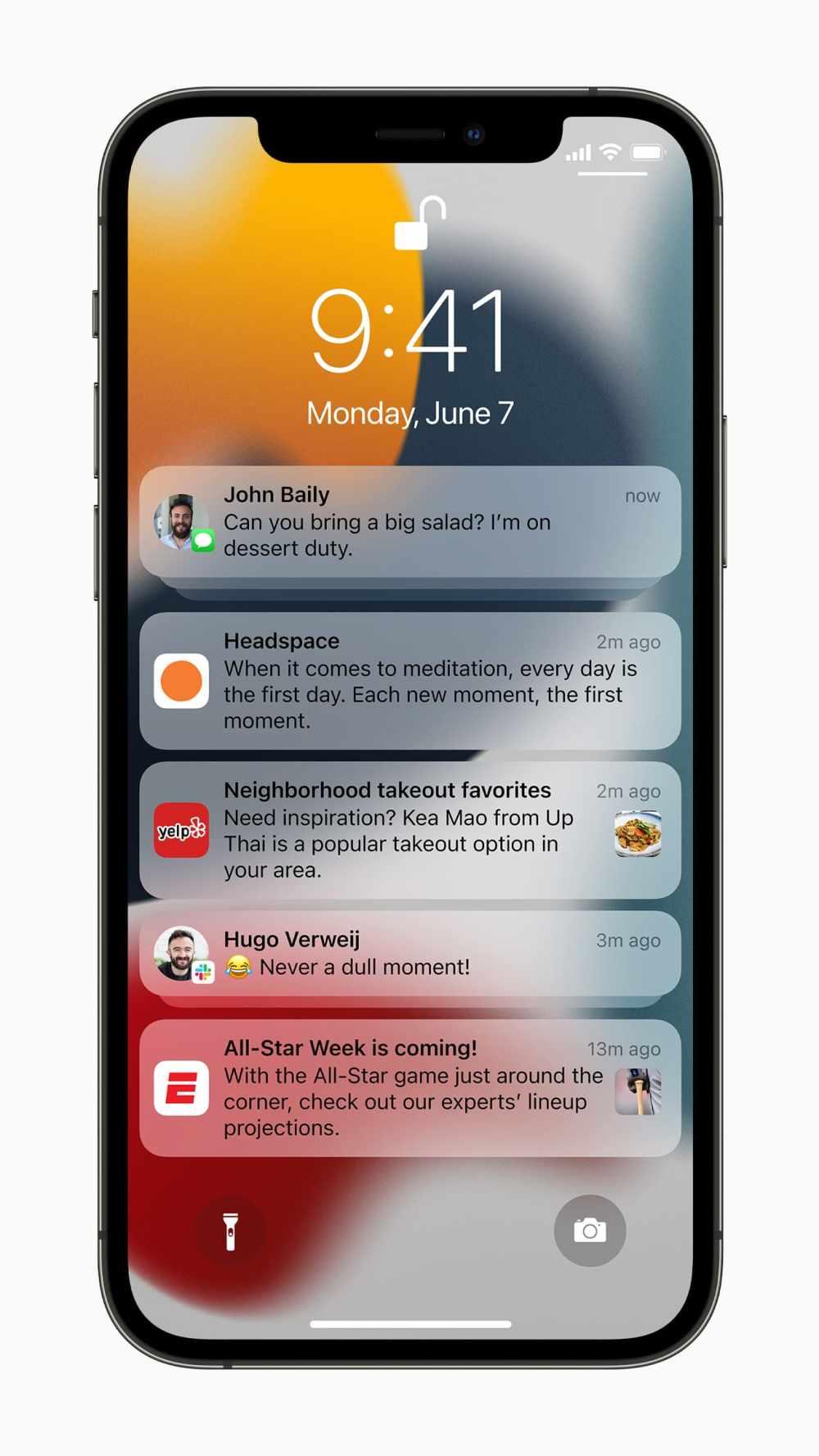 Apple-iPhone12Pro-iOS15-Notifications-lockscreen_060721