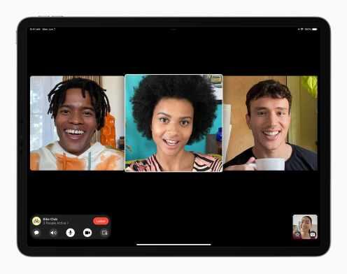 Apple_iPadPro-iPadOS15-FaceTime-groupfacetime-4person-060721