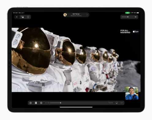 Apple_iPadPro-iPadOS15-FaceTime-tv-expanse-nowplaying-PIP-ForAllMankind-horz_060721